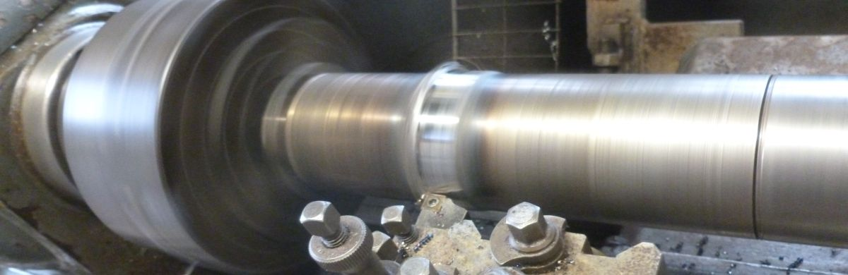 Turning Steel Shaft Repair Carbide Precision MCT Engineering Sligo